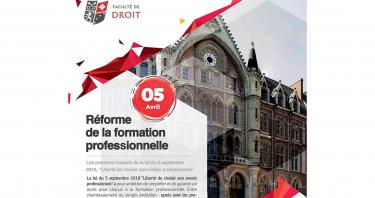 Bannière du Colloque sur la Réforme de la formation professionnelle